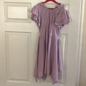 Crew cuts everyday girls purple dress